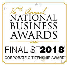 2018 National Business Awards Finalist